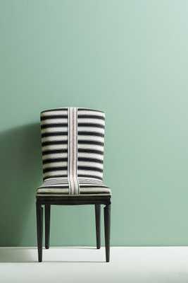 Grassland Stripe Dining Chair - Anthropologie