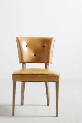 Premium Leather Promena Dining Chair - Anthropologie