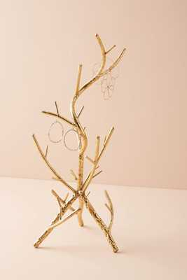 Golden Branch Jewelry Stand - Anthropologie