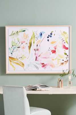 Watercolor Petals Wall Art - Anthropologie