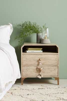 Zagora Tasseled Nightstand - Anthropologie