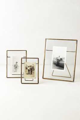 Pressed Glass Photo Frame. 8 x 10 - Anthropologie