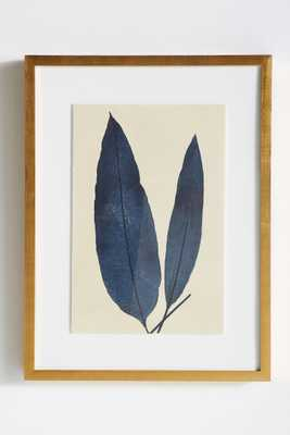 Indigo Ferns Wall Art - Ferns 1 - Anthropologie