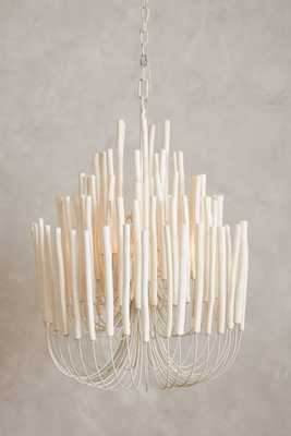 Tiered Tapers Chandelier - Anthropologie