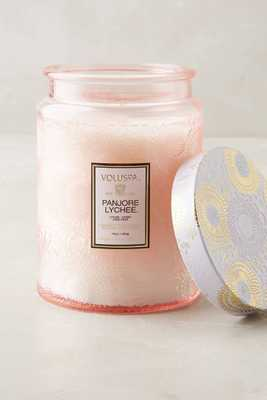 Limited Edition Voluspa Cut Glass Jar Candle - Anthropologie
