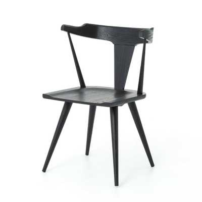 Ripley Dining Chair in Black - Burke Decor