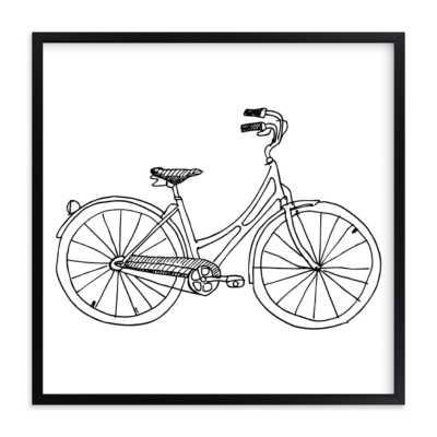 "bicycle  ART PRINTS, 16""x 16"" - Minted"