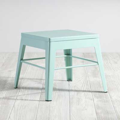 Steel Mint Step Stool - Crate and Barrel