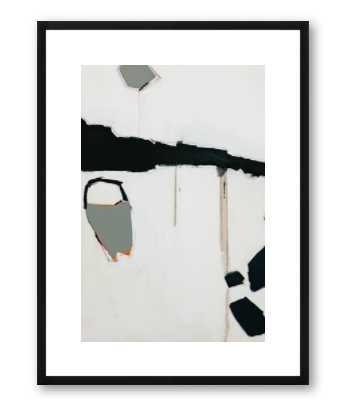 Salta Dominga Artwork with Black wood frame - Artfully Walls