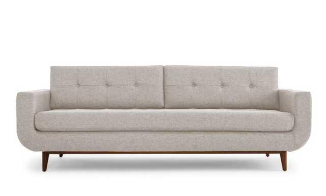 Midcentury Modern Sofa Gervin - Merit Dove - Medium - Beige - Joybird