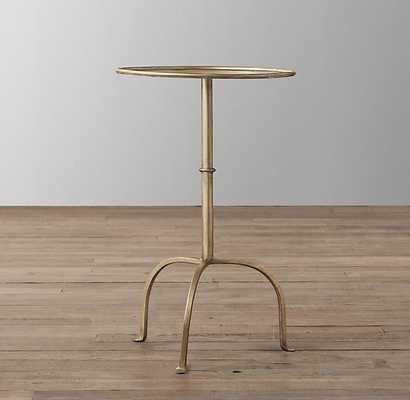 PARISIAN SIDE TABLE - BURNISHED GOLD - RH Baby & Child