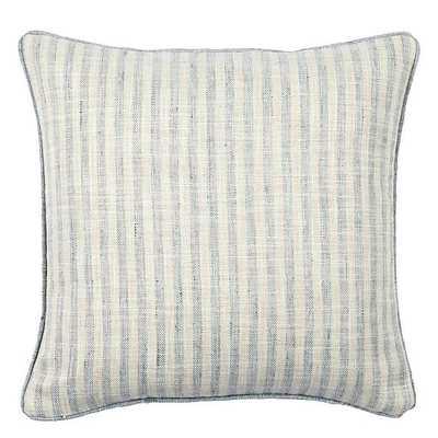 Ballard Designs Rabun Stripe Pillow Cover Mineral - Ballard Designs