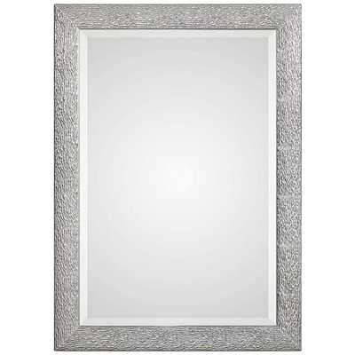 Mossley Metallic Silver Wall Mirror - Hudsonhill Foundry