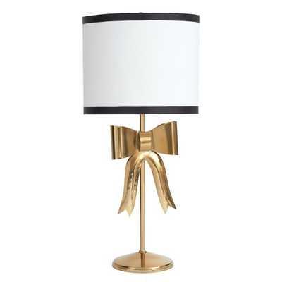 The Emily & Meritt Bow Table Lamp - Pottery Barn Teen