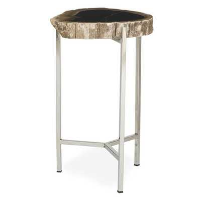 PETRIFIED WOOD PULL-UP TABLE - Mitchell Gold + Bob Williams