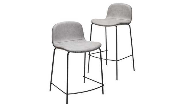"primitivo grey 24"" counter stool - CB2"