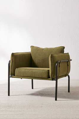 Howell Canvas Arm Chair - Urban Outfitters