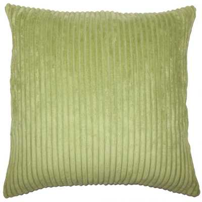 Calvine Solid Pillow Avocado - Linen & Seam