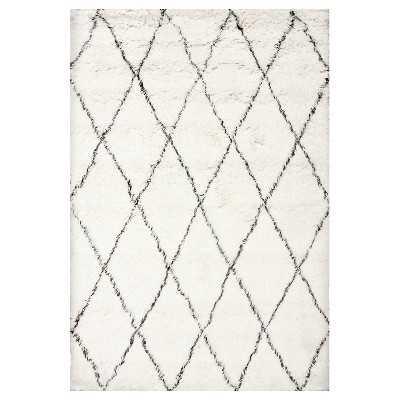 Loom 23 100% Wool Hand Made Marrakech Shag Rug, 8' x 10' - Loom 23
