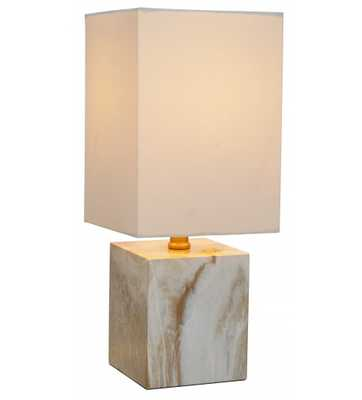 LAKELY TABLE LAMP, WHITE - Lulu and Georgia
