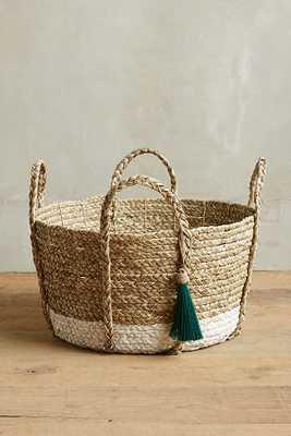 Balinese Tassel Basket - Anthropologie