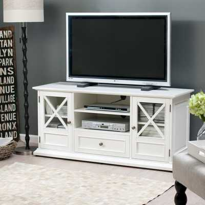 Belham Living Hampton TV Stand - White - Hayneedle