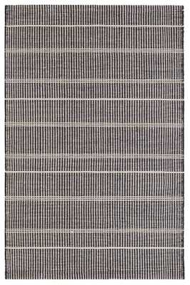 SAMSON BLACK INDOOR/OUTDOOR RUG - 8' x 10' - Dash and Albert