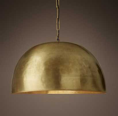 MORRISON PENDANT - Lacquered Burnished Brass - RH Baby & Child