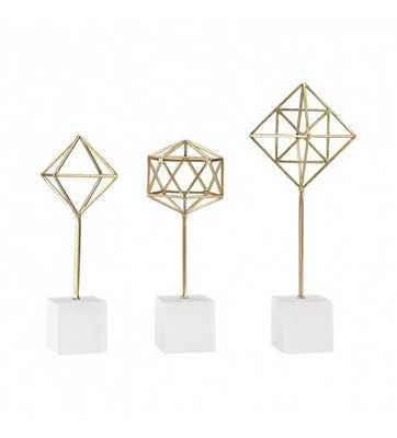 Geo Stand Decorative Object, Set of 3 - Lulu and Georgia