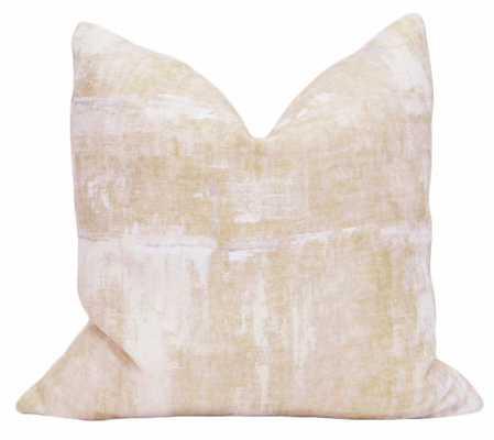 Brushstroke Linen // Blush - Little Design Company