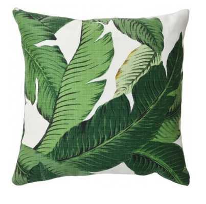 Banana Palm Indoor/Outdoor Pillow - Lulu and Georgia