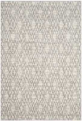 Tunisia Ivory/Light Gray 8' X 10' Area Rug - Arlo Home