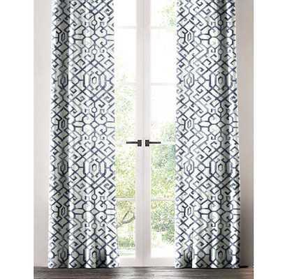 SHANNON WINDOW PANEL - Linen & Seam