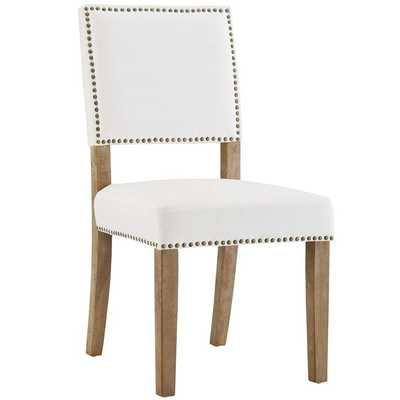 OBLIGE WOOD DINING CHAIR IN IVORY - Modway Furniture