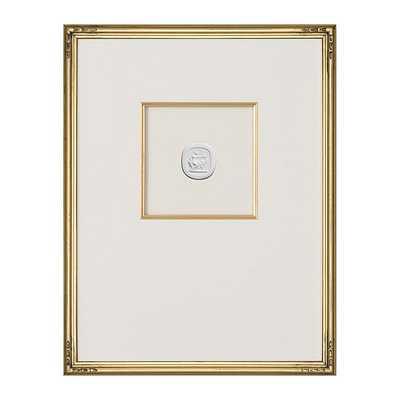"Ballard Designs Intaglio in Gold Art  18"" x 14"" - Print 1 - Ballard Designs"
