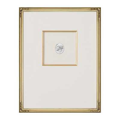 "Ballard Designs Intaglio in Gold Art  18"" x 14"" - Print 2 - Ballard Designs"