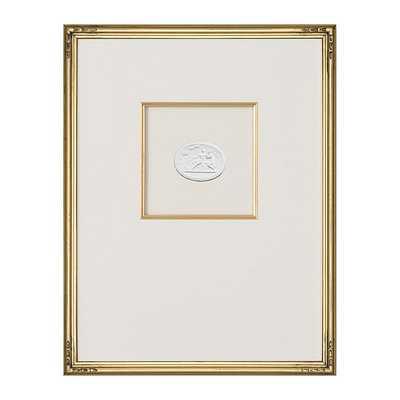 "Ballard Designs Intaglio in Gold Art  18"" x 14"" - Print 3 - Ballard Designs"
