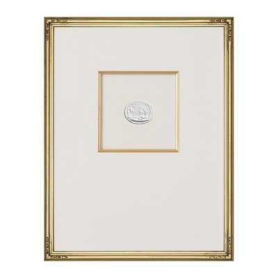 "Ballard Designs Intaglio in Gold Art  18"" x 14"" - Print 5 - Ballard Designs"