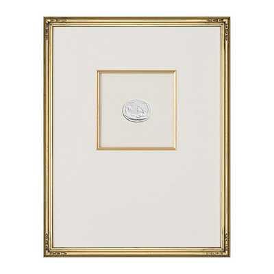 "Ballard Designs Intaglio in Gold Art  18"" x 14"" - Print 6 - Ballard Designs"