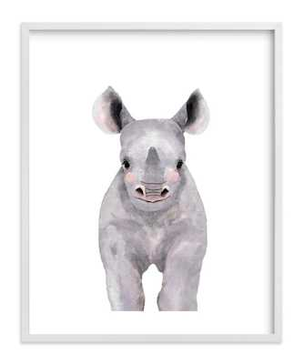 Baby Animal Rhinoceros - Minted