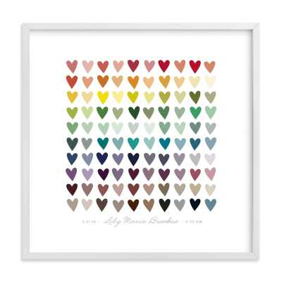 Paper Hearts - Minted