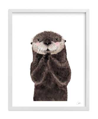 Baby Animal Sea Otter - Minted