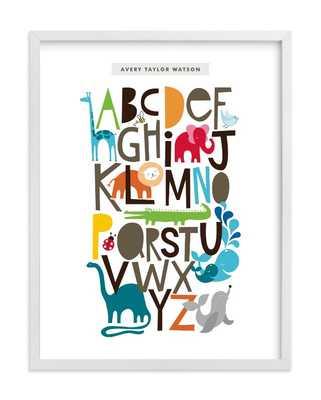 Animals Alphabet - Minted