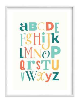Mix it up Alphabet - Minted