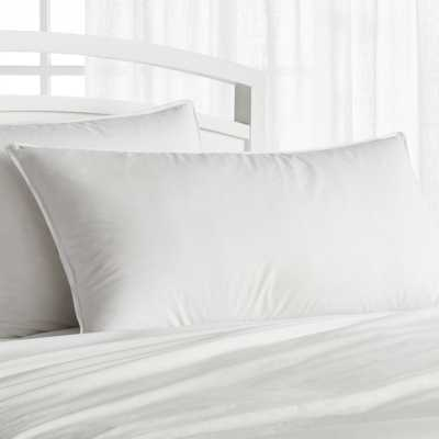 Premium Down Soft King Pillow - Crate and Barrel