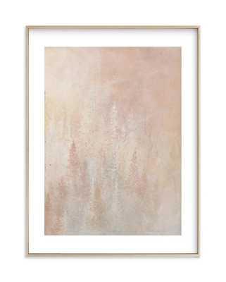 Shine. -18 x 24 brass frame - Minted