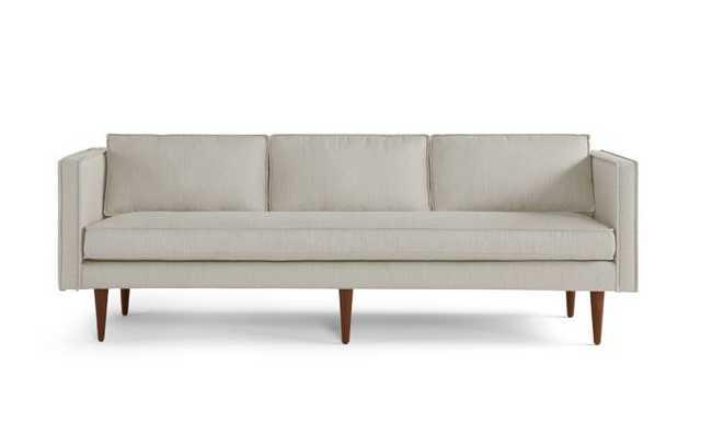 Serena Mid Century Modern Sofa - Synergy Oatmeal - Medium - Joybird