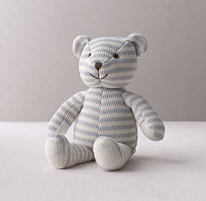 LUXE KNIT STUFFED TOY - BEAR - RH Baby & Child