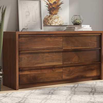 Posner 6 Drawer Double Dresser - Wayfair
