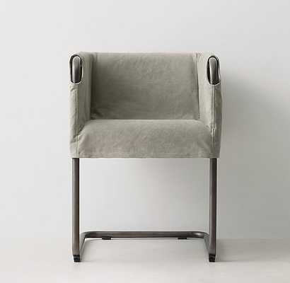 ABBOTT SLIPCOVERED DESK CHAIR - RH